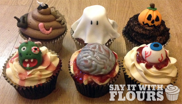 Halloween Cupcakes Say It With Flours