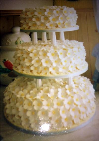 Mum's Daisy Cake