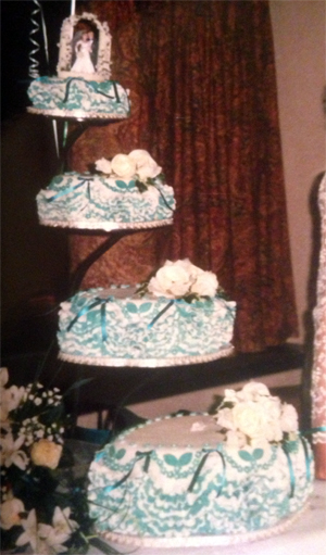 Mum Wedding Cake