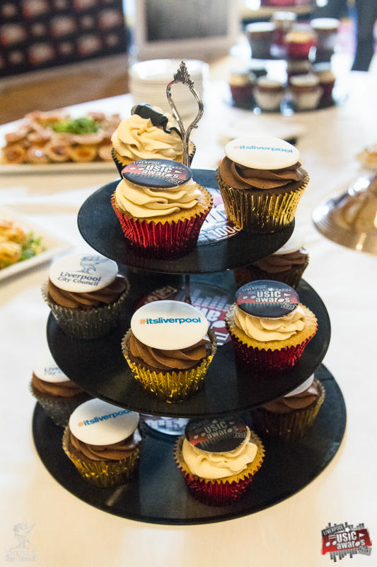 Liverpool Music Award Cupcakes