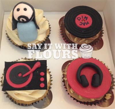 Steve Aoki Cupcakes