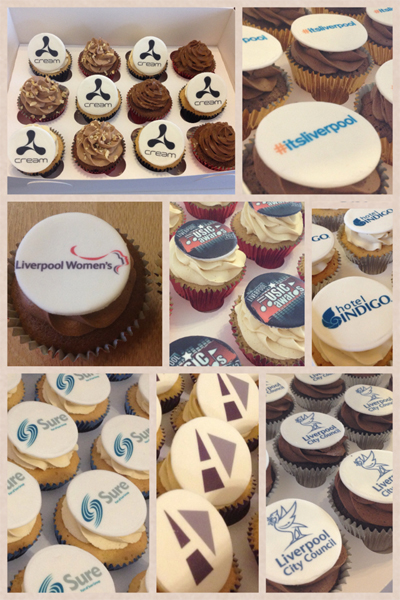 Corporate Cupcakes Liverpool