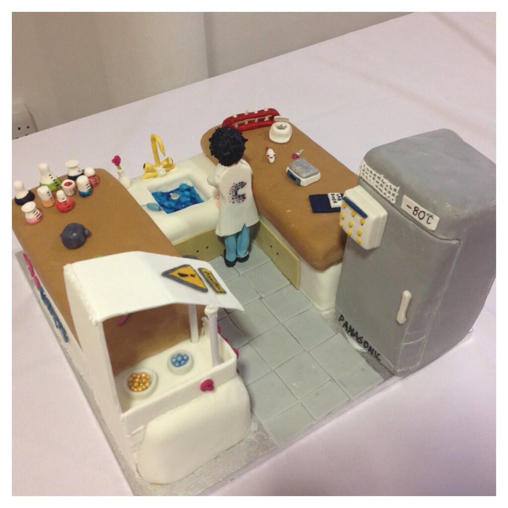 Liverpool Cancer Trials Unit Cake