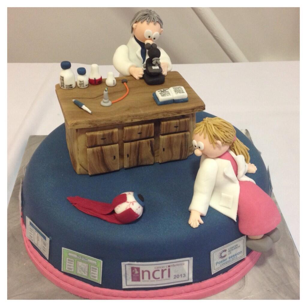 CRUK Liverpool Cake