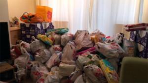 Foodbank Pile